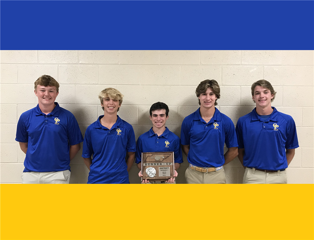 GP Boys Golf Team Takes District Runner-up