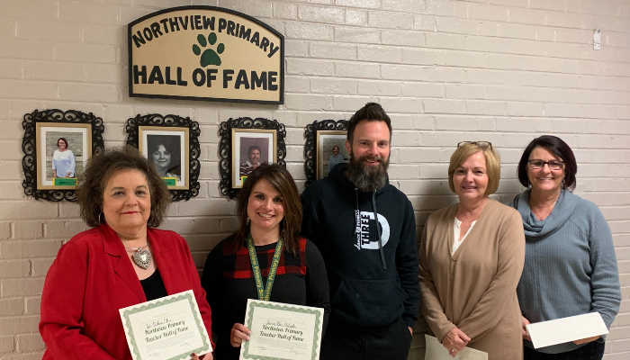 Northview Primary's 2020 Inaugural HALL OF FAME Class