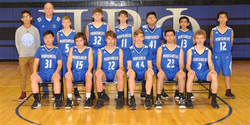 The boys basketball team known as the Mountaineers.