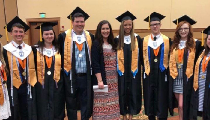 The National Honor Society of Pigeon Forge High School congratulates our senior members on their ac