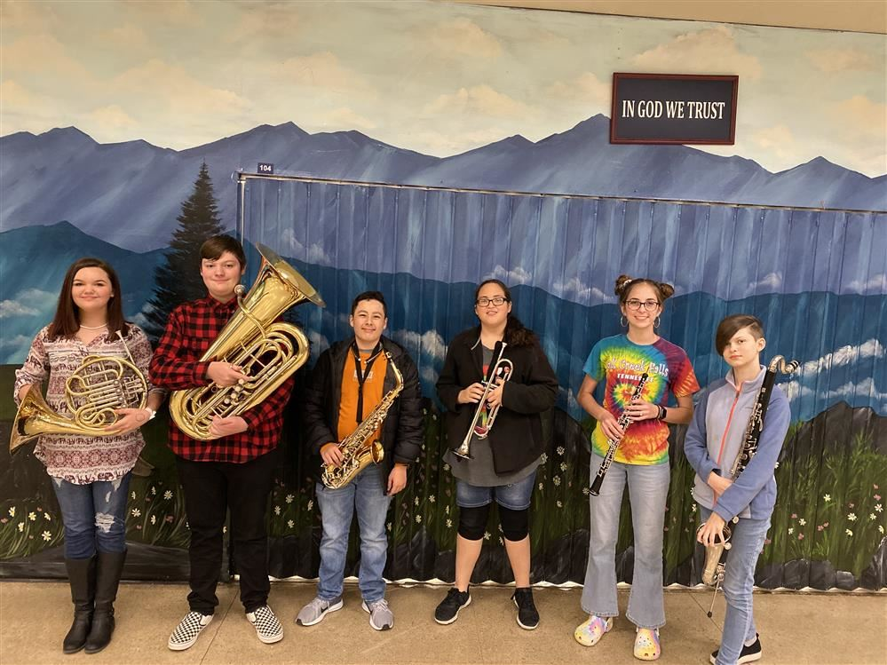 8th grade junior band clinic winners