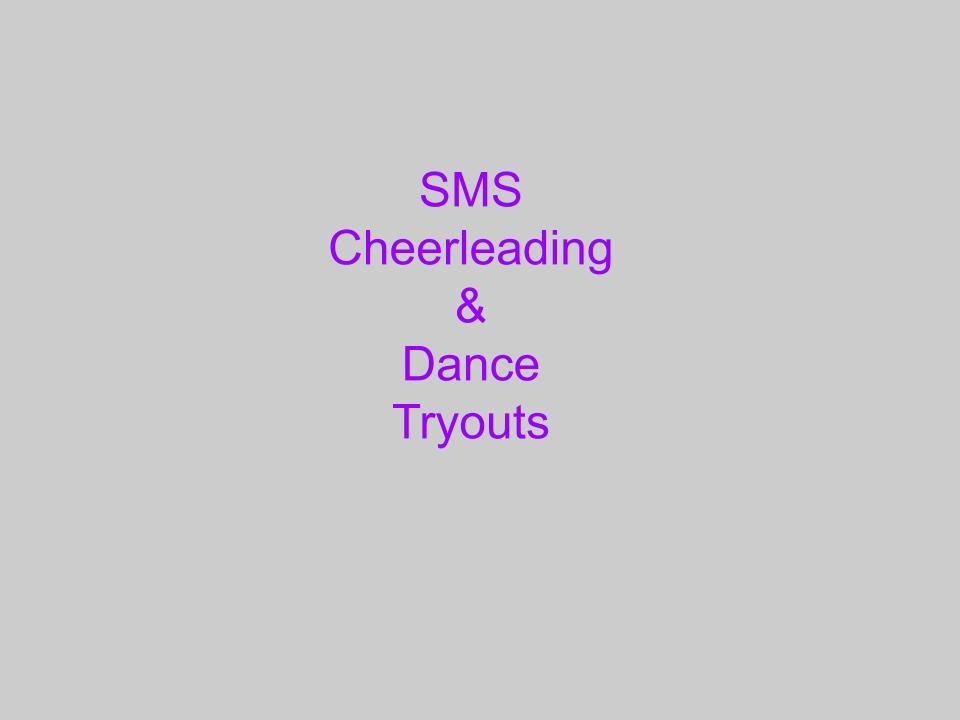 SMS Cheerleading and Dance
