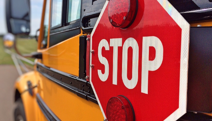 Sevierville Police Department Encourages Safe Pedestrian and School Bus Stop Practices